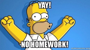 yay-no-homework