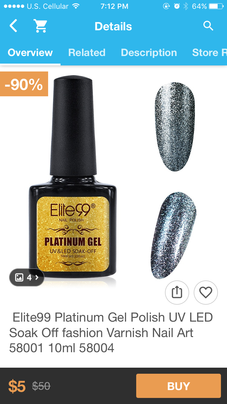 Review: Elite 99 Platinum Gel Polish – Beauty and the Budget