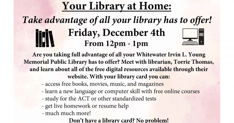 Library Resources Workshop