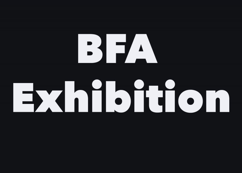 BFA-Exhibition