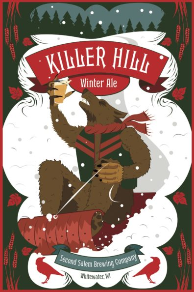 Featured is the Kill Hill Winter Ale brew poster. I do not own the rights to this photo.