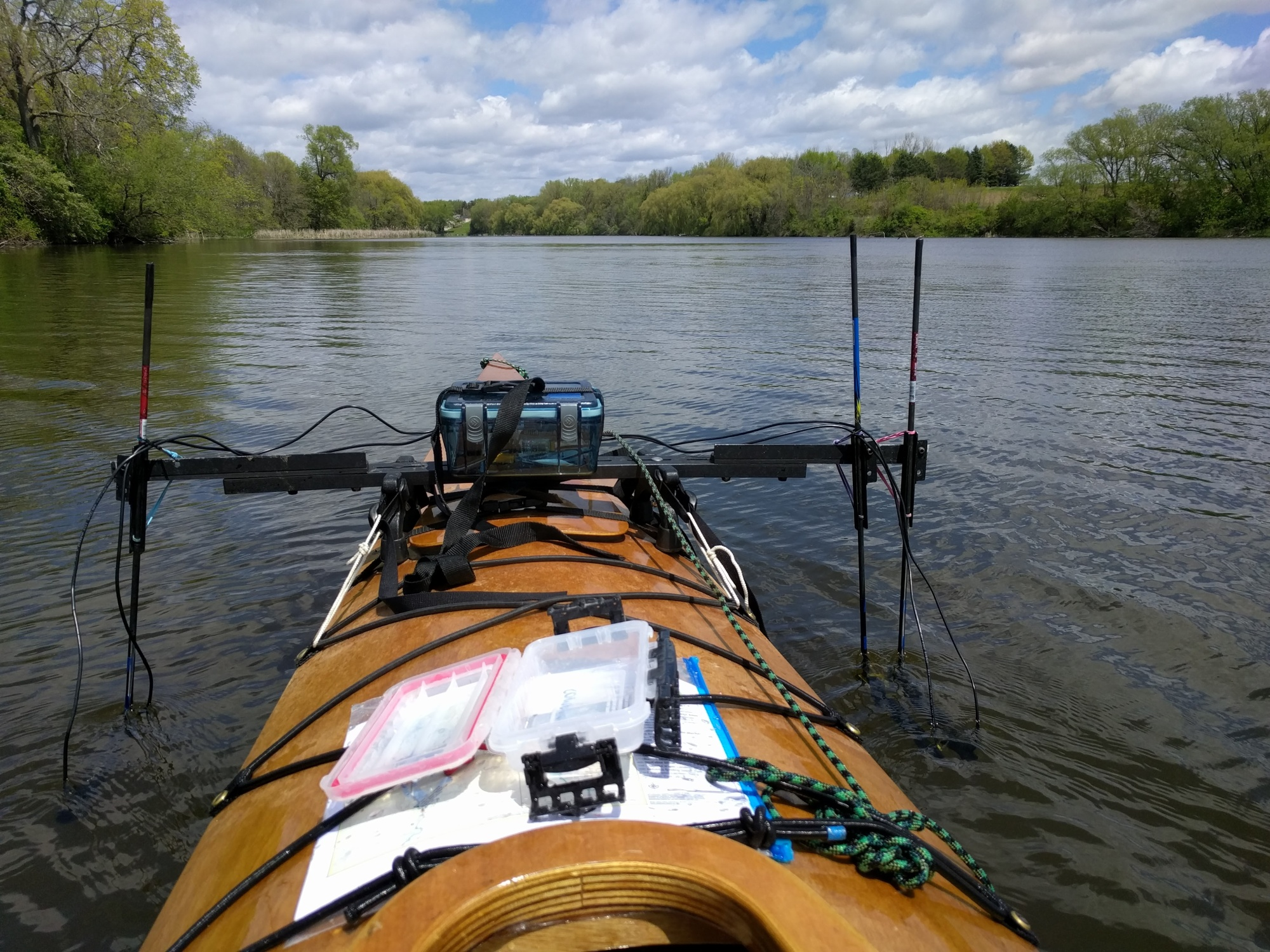 Mapping water quality on the Rock River