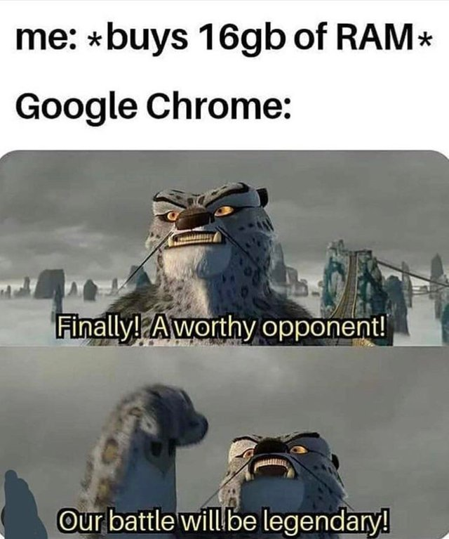Chrome Destroys Ram