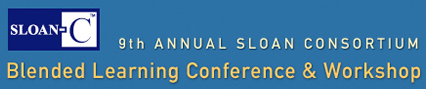Sloan Blended Conference 2012