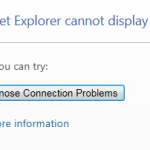 Internet Explorer Error with Bitdefender