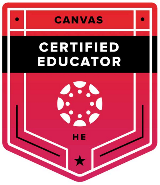 Canvas Certified Educator - Higher Ed Badge