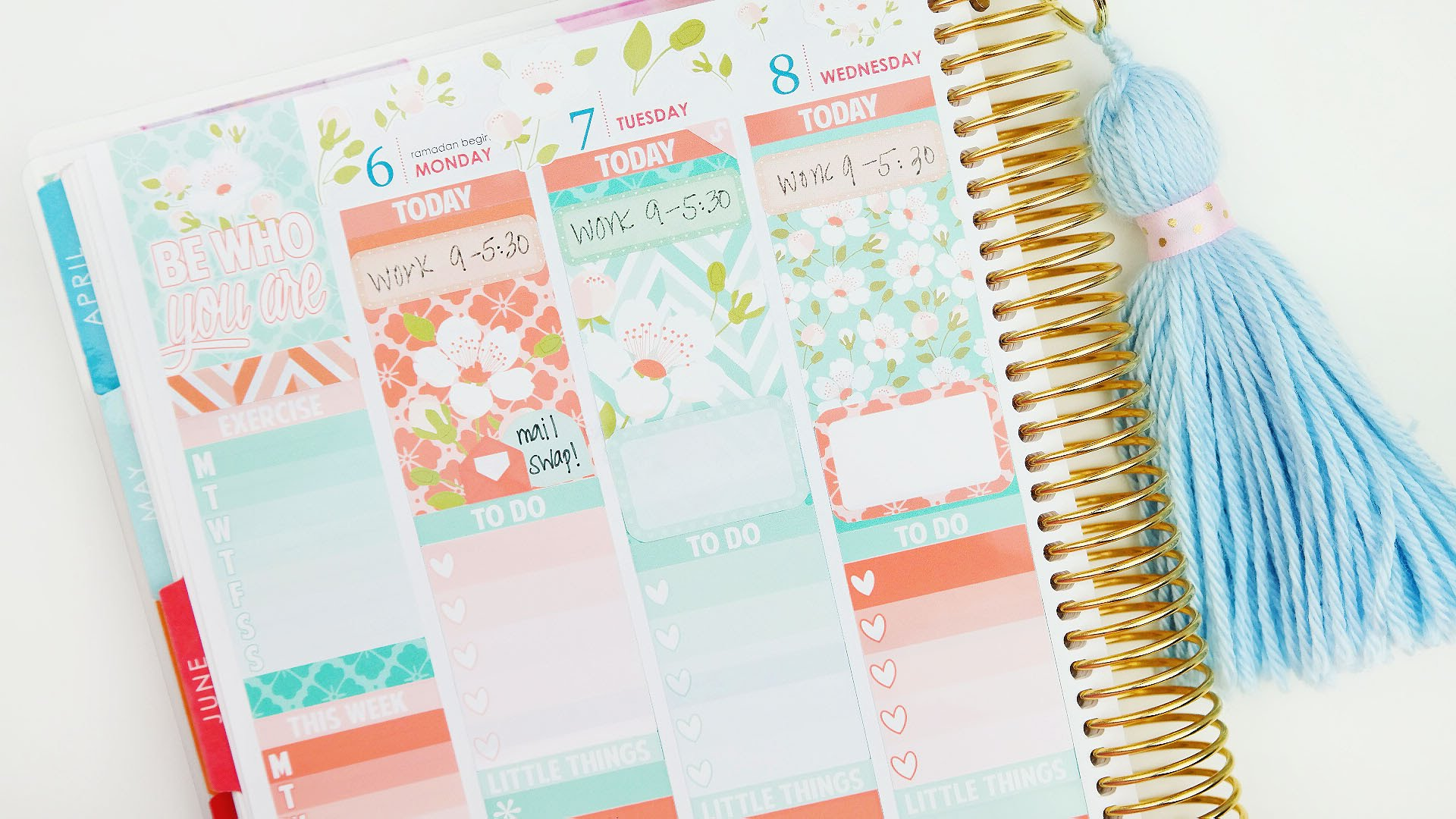 erin condren stickers for happy planner | it's all about the paper