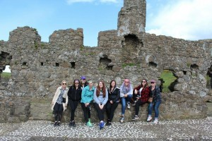 Here are some of my friends at Dunluce Castle, in Bushmills, Northern Ireland.