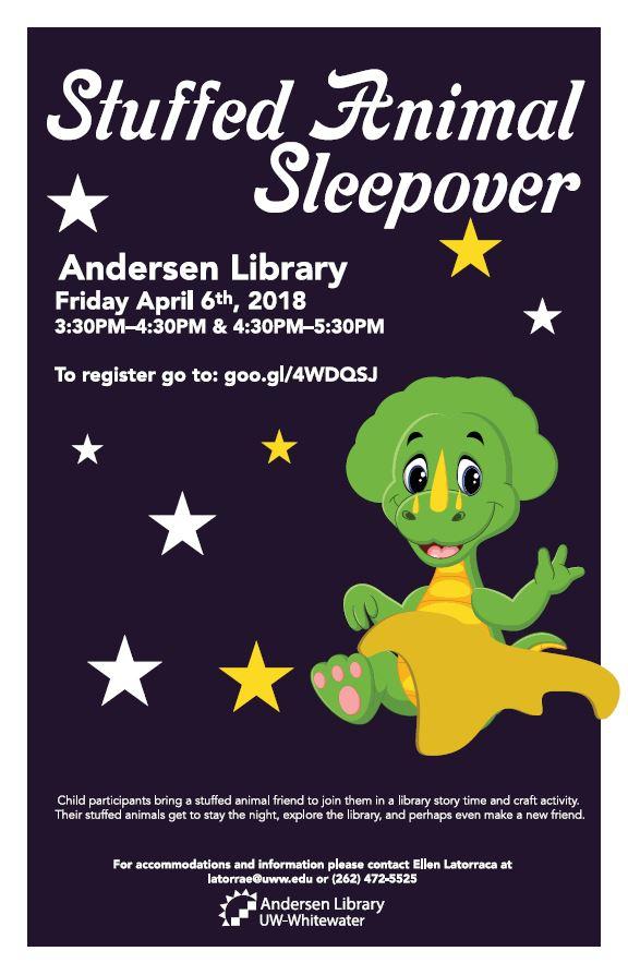poster for Stuffed Animal Sleepover