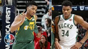 Donovan Mitchell drops career-high 46 vs. Giannis Antetokounmpo, Bucks in  Jazz win | NBA Highlights - YouTube