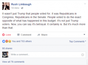 Rush Limbaugh rant part 2