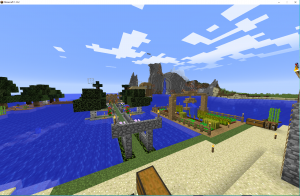 Floating Wood Village Overview