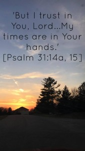 psalm 31 14 and 15