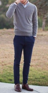 mens casual polished look