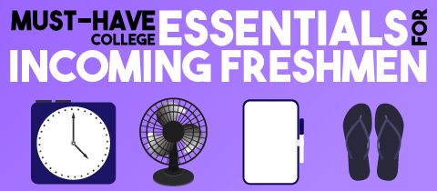 Must-have College Essentials for Incoming Freshmen