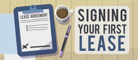 Signing Your First Lease!