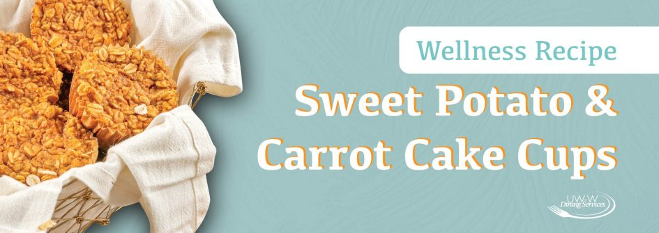 Sweet Potato & Carrot Cake Cups