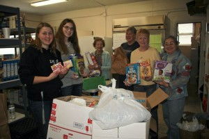 Trivia Night Items Delivered to Food Pantry!
