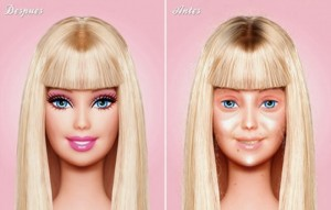 Pic for Blog- Leave the Cosmetics for Barbie