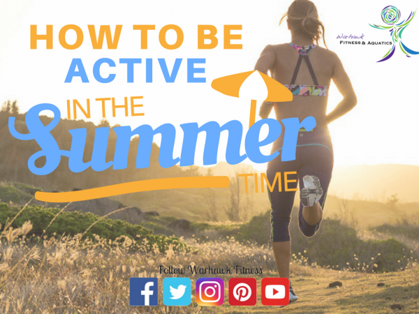 BE active in summer image