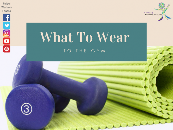 what to wear to the gym image