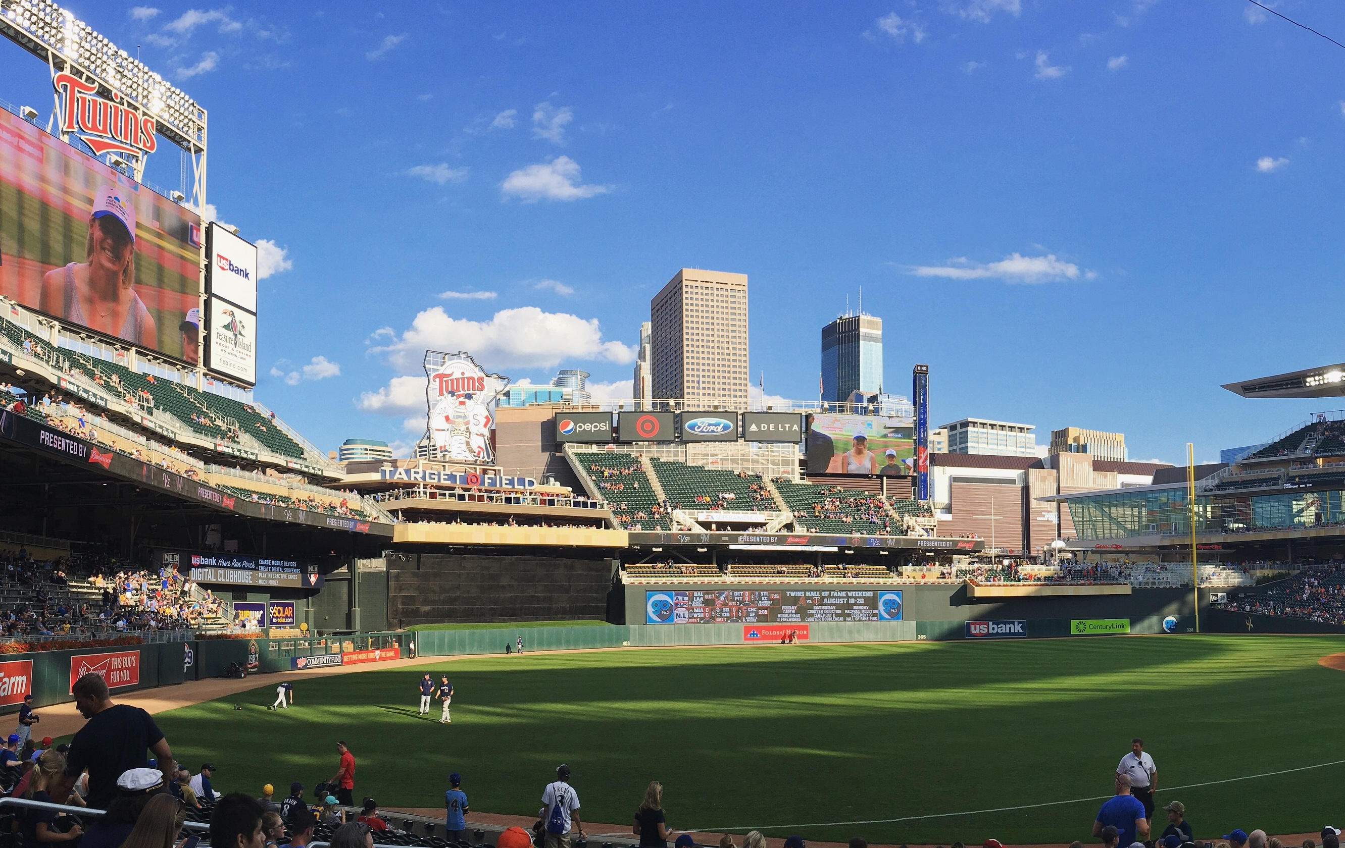 The Brew Crew at Target Field